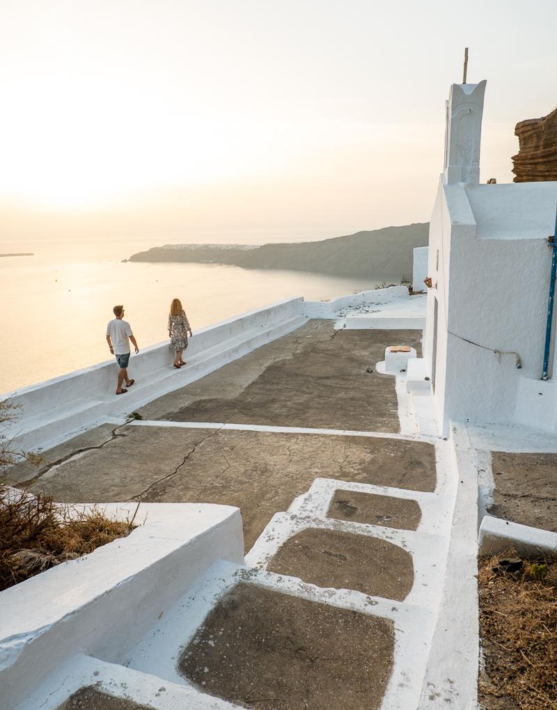 Punkt widokowy Santorini