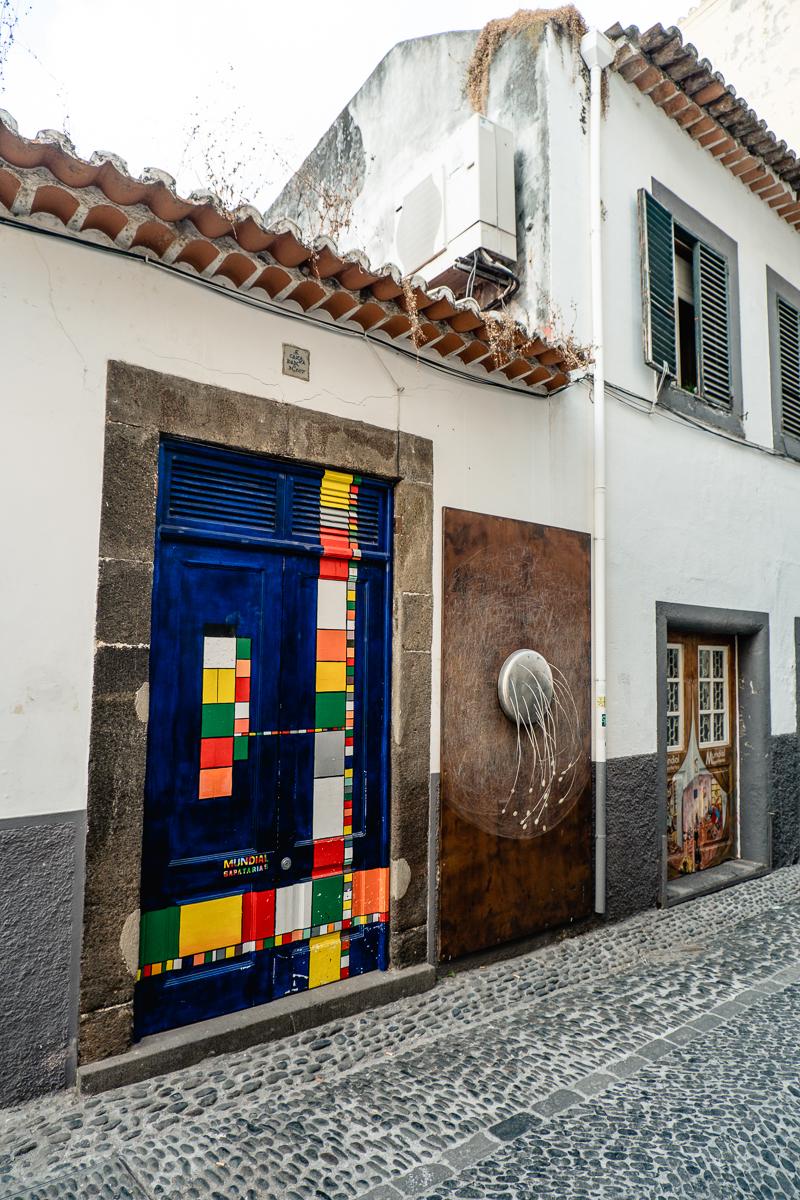 Rua de Santa Maria w Funchal