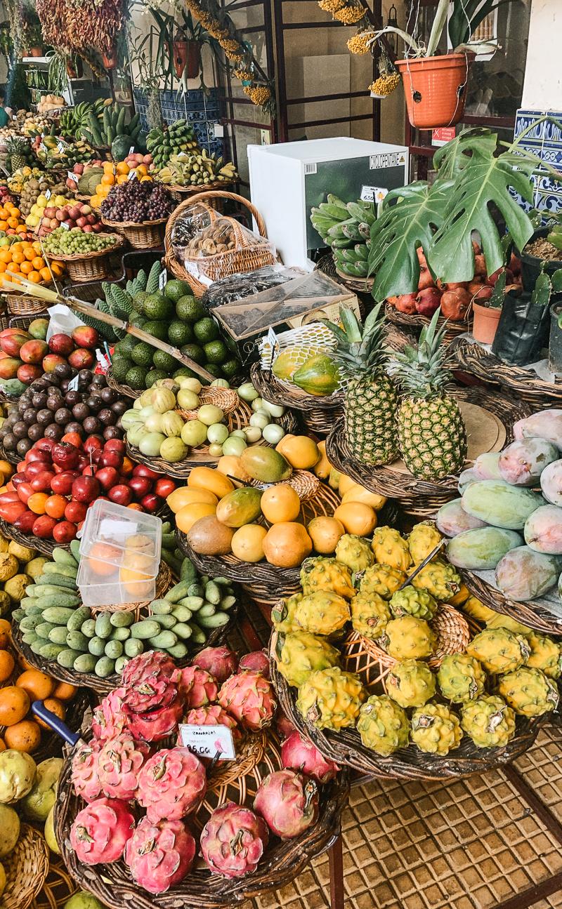 Mercado dos Lavradores w Funchal