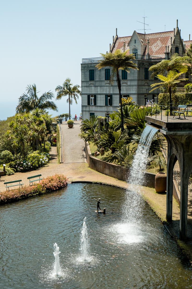 Jardim Tropical Monte Palace w Funchal